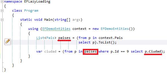 Entity Framework] Lazy Load y SQL Profile